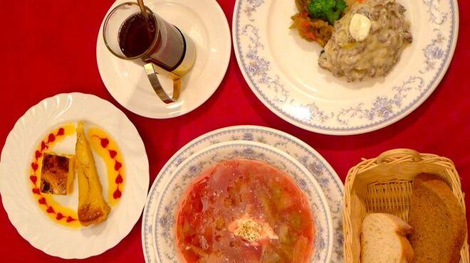 サラファン - 料理写真:ビーフストロガノフコース
