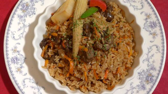 サラファン - 料理写真:ウズベクピラフ