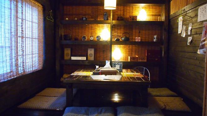 奥芝商店 - 内観写真:お座敷