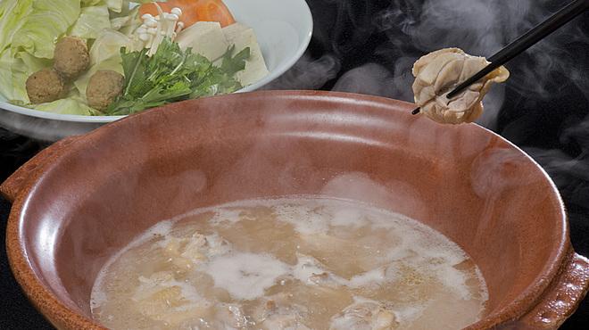酔灯屋 - 料理写真:【水炊き】オーガニック野菜と自家製スープの水炊きです