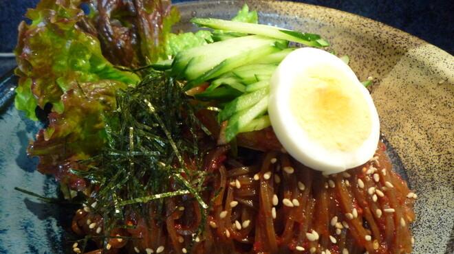 ぱっぷHOUSE - 料理写真:ビビン麺です。辛っっ!!…でも止まんない~