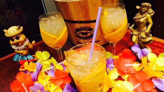 アロハテーブル ハワイアンバー - メイン写真: