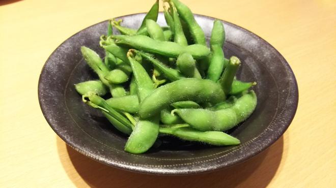 楽宴乃間 純家 -すみか- - 料理写真:枝付き枝豆