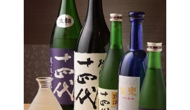 寿司和 - 料理写真:銘酒「十四代」各種ご用意しております