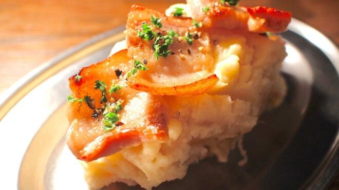 大衆ビストロ ジル - 料理写真:スモーキーポテトサラダ