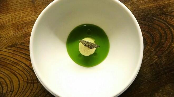 シャンペトル - 料理写真:ブロッコリーの冷たいブルーテ