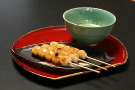 和のみ - 料理写真:京都直送の みたらし団子と抹茶のセット