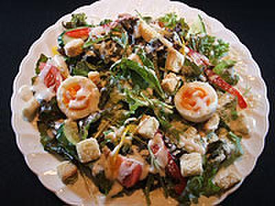 七厘 - 料理写真:シーザーサラダ