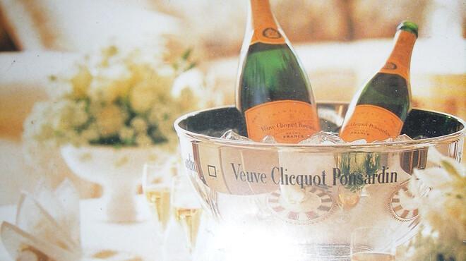 炫 - ドリンク写真:シャンパン・スパークリングワイン取り揃えております。