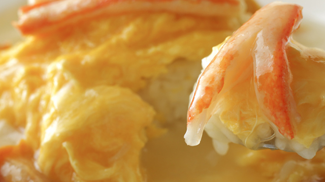 大観苑 - 料理写真:絶品天津飯(ずわい蟹)