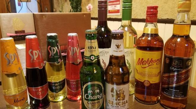 アジアン食堂グリドルズ - ドリンク写真:タイのビールやワイン、ウイスキー等ご用意しております。
