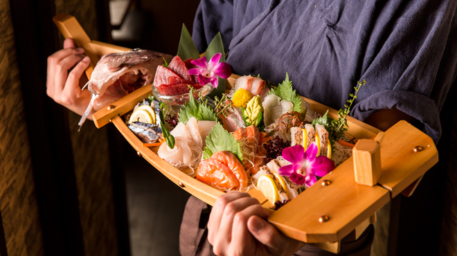 個室居酒屋 馬に魚に  - メイン写真: