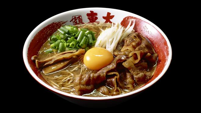 ラーメン東大 - 料理写真:徳島ラーメン 肉増し