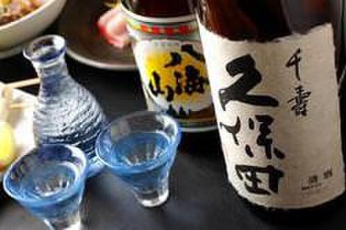 ニユートーキヨー 庄屋 - ドリンク写真:全国各地の日本酒ございます。  その日の気分でお選び下さい♪
