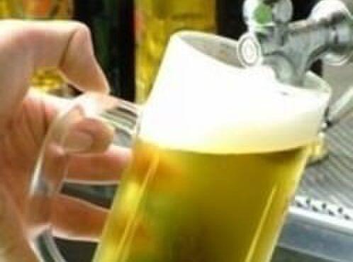 ニユートーキヨー 庄屋 - ドリンク写真:やっぱり「うまい」生ビール♪  高品質!サッポロ黒ラベル!!