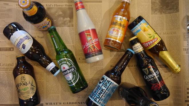 Sign - ドリンク写真:世界の瓶ビール