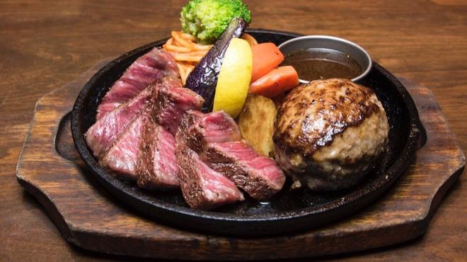 ステーキ&ハンバーグ ひげ - 料理写真:
