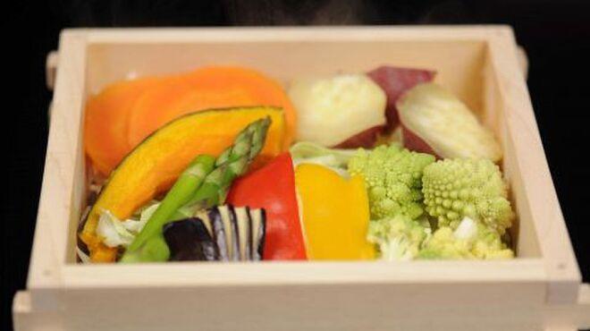くらち - 料理写真:いろいろ野菜のまんま蒸し