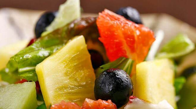極 神楽 - 料理写真:おまかせサラダ