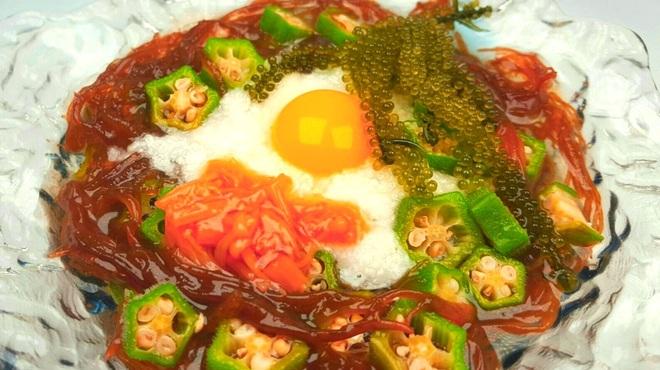 かりゆしナイト - 料理写真:ネバネバサラダ