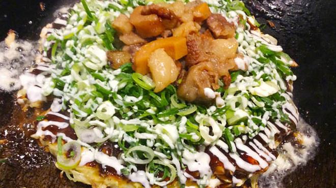 福えびす - 料理写真:じっくり煮込んだ牛すじにねぎたっぷり!