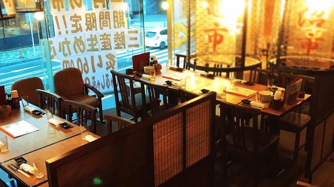 日本一の宮城の魚が喰える店 三陸 天海のろばた - 内観写真: