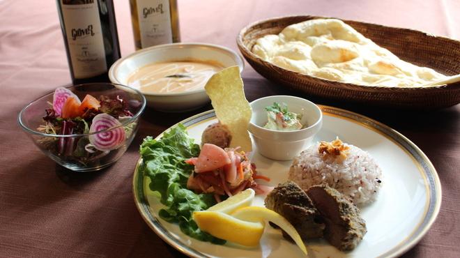 タゴール - 料理写真:ラムカバブランチ