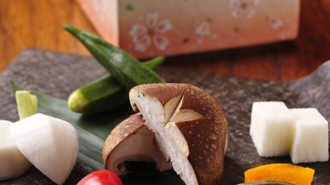 飛騨牛専門 華家 - 料理写真:野菜もこだわってます
