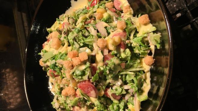 豚料理 とんと - 料理写真:チョップドコーンサラダ