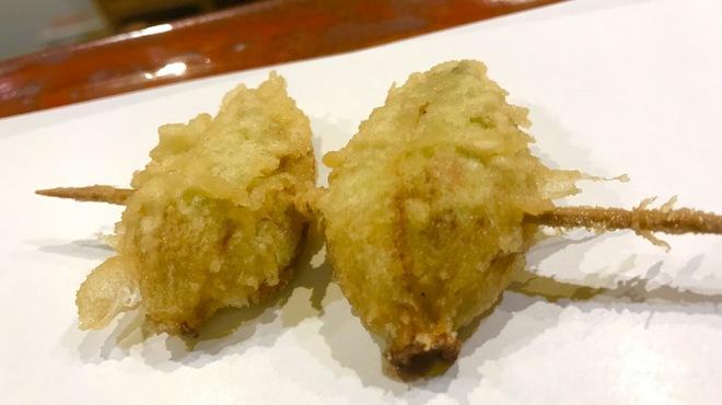 江戸前晋作 - 料理写真:蕗の薹