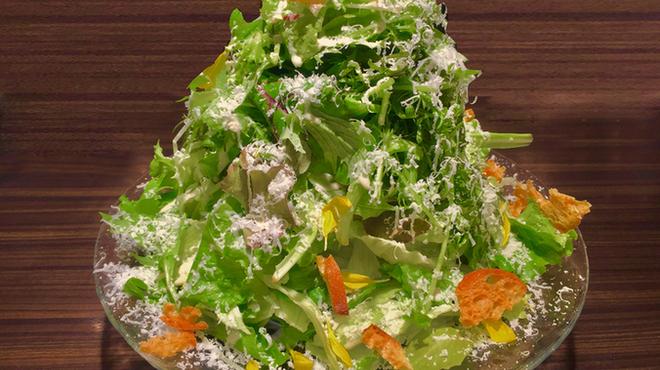 俺のフレンチ TOKYO - 料理写真:俺盛り!グリーンサラダ