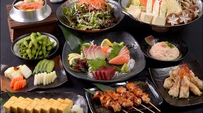炭家米蔵 - 料理写真:米コース