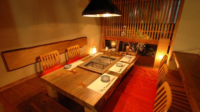 和火一 - 内観写真:全て個室で趣異なる20室
