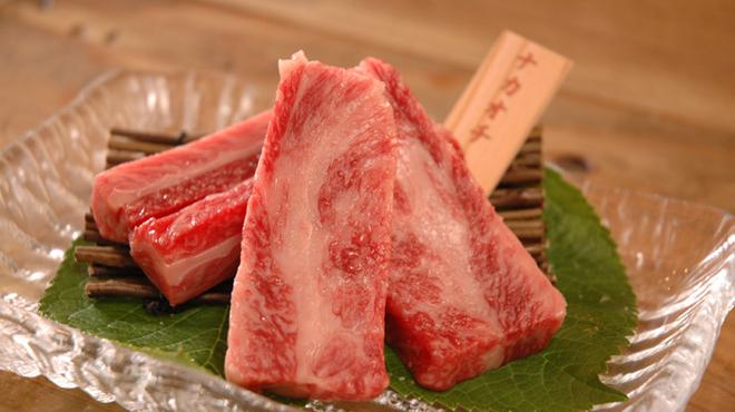 和火一 - 料理写真:~ナカオチ~脂がのっており、カルビの中でも特に旨みのある味わい。