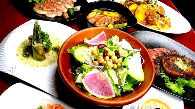 鉄板焼 野菜バル 籠女 - メイン写真: