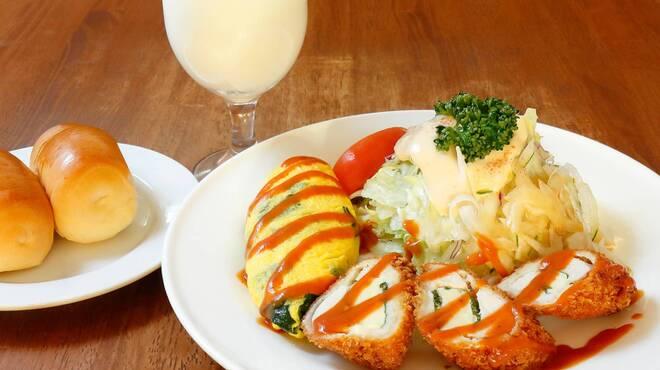 サラダの店サンチョ - 料理写真:土日 Aランチ