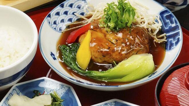 八かく庵 - 料理写真:豆腐ハンバーグ膳