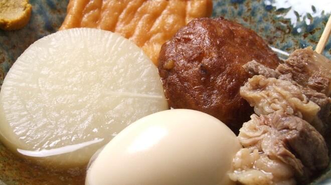 噂のこの串かつあのおでん 博多駅前倶楽部 - 料理写真:割烹おでん