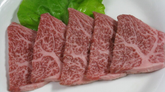 焼肉ハウス - 料理写真:米沢牛クラシタ