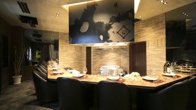 近江牛一筋 農家レストラン だいきち - 内観写真:ステーキカウンター(要予約)