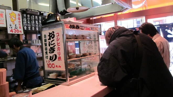 三国そば - 内観写真:店内