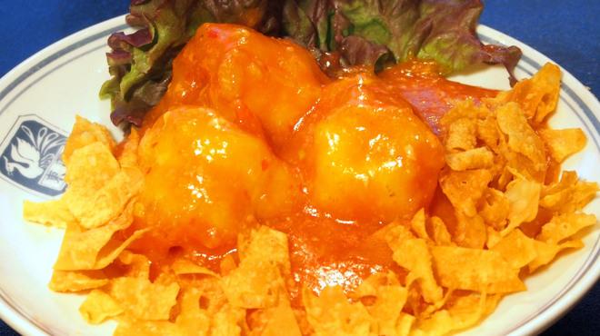 東園 - 料理写真:大海老のチリソース煮