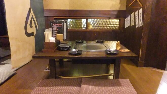 花家 - 内観写真:4名席のお座敷