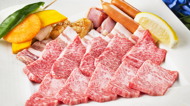 七輪焼肉ふくの牛 - 料理写真: