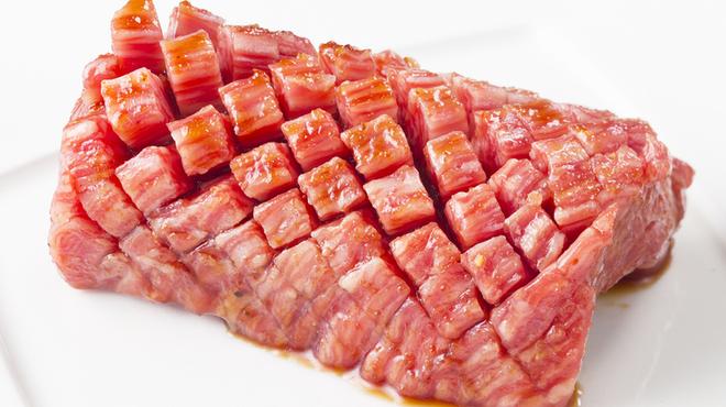 七輪焼肉ふくの牛 - 料理写真:伊万里牛 ハナガサク