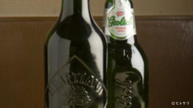 牛ちゃん - ドリンク写真:ハートランドビール