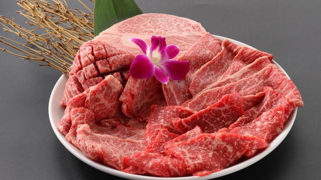 俺の焼肉 - 料理写真:盛り合わせ各種