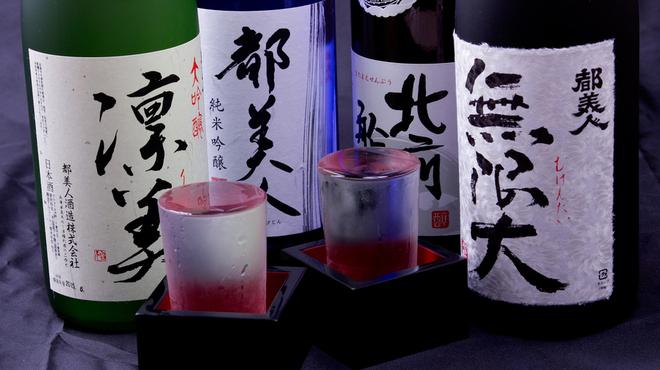 ええとこどり - ドリンク写真:淡路島の酒蔵で作られている飲み口良い日本酒。
