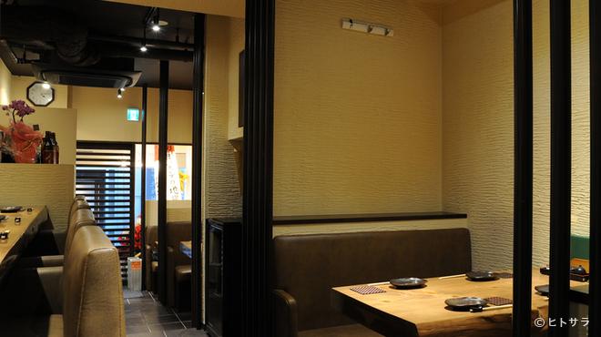 焼鳥・元気 - 内観写真:心温まるアットホームな雰囲気