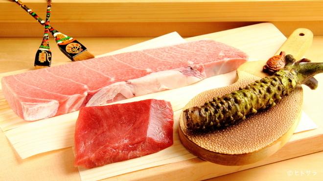 鮨處つの田 - 料理写真:寿司の王道『マグロ』は部位ごとに味わいたい